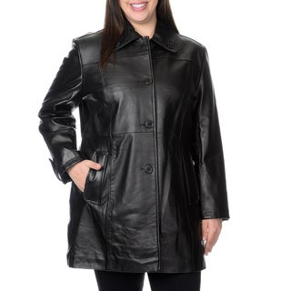 EXcelled Plus Lambskin Modified Swing Button Front Features Wool Insert Back Pleat