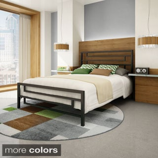 Amisco Temple 54-inch Full-size Metal Bed