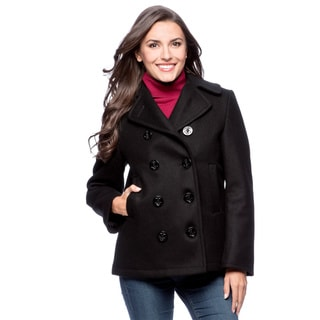 Sterlingwear of Boston Women's Wool Classic Peacoat