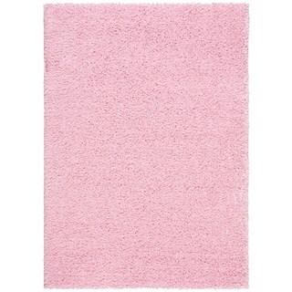 Rug Squared Woodstock Light Pink Rug (3'2 x 5')