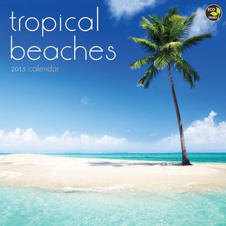 2015 Tropical Beaches Wall Calendar