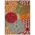 Rug Squared Kona Indoor/Outdoor Green Rug (7'10 x 10'6)