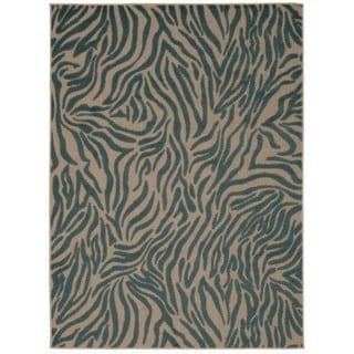 Rug Squared Kona Blue Rug (7'10 x 10'6)