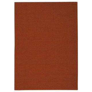 Rug Squared Georgetown Orange Rug (5' x 7')