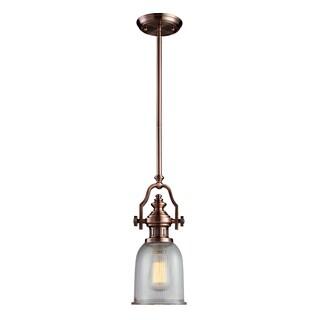 Elk Lighting Chadwick 1-light Pendant in Antique Copper