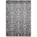 Rug Squared Carlsbad Grey Rug (7'10 x 10'6)