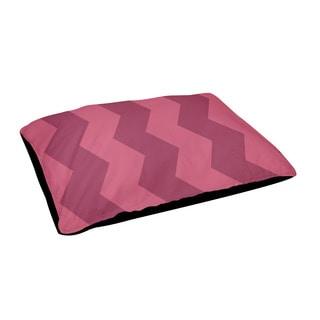 18x28-inch Chevron Outdoor Geometric Dog Bed