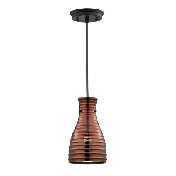 Elk Lighting Strata Oil-rubbed Bronze 1-light Mini Pendant 14237962