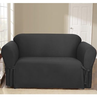 Sure Fit Canvas Loveseat Slipcover