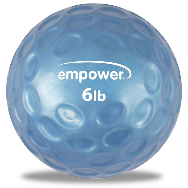 Empower Fitness Fingertip Grip Medicine Ball with DVD