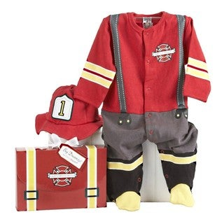 Baby Aspen Big Dreamzzz Baby Firefighter 2-piece Layette Set