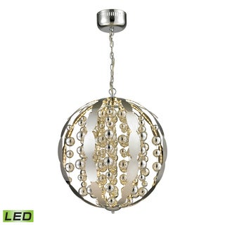 Elk Lighting Polished Chrome Light Spheres LED Pendant