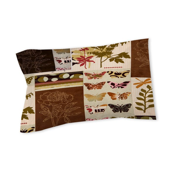 Thumbprintz Botanical Collage Sham