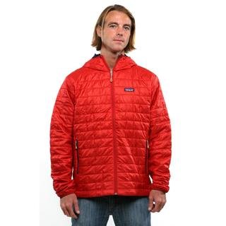 Patagonia Men's Cochineal Red Nano Puff Hoody