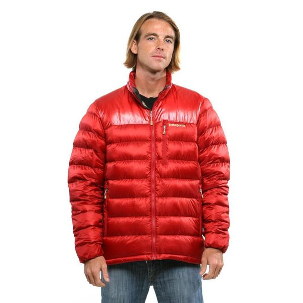 Patagonia Men S Cochineal Red Fitz Roy Down Jacket