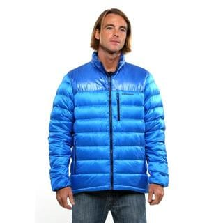 Patagonia Men's Andes Blue Fitz Roy Down Jacket