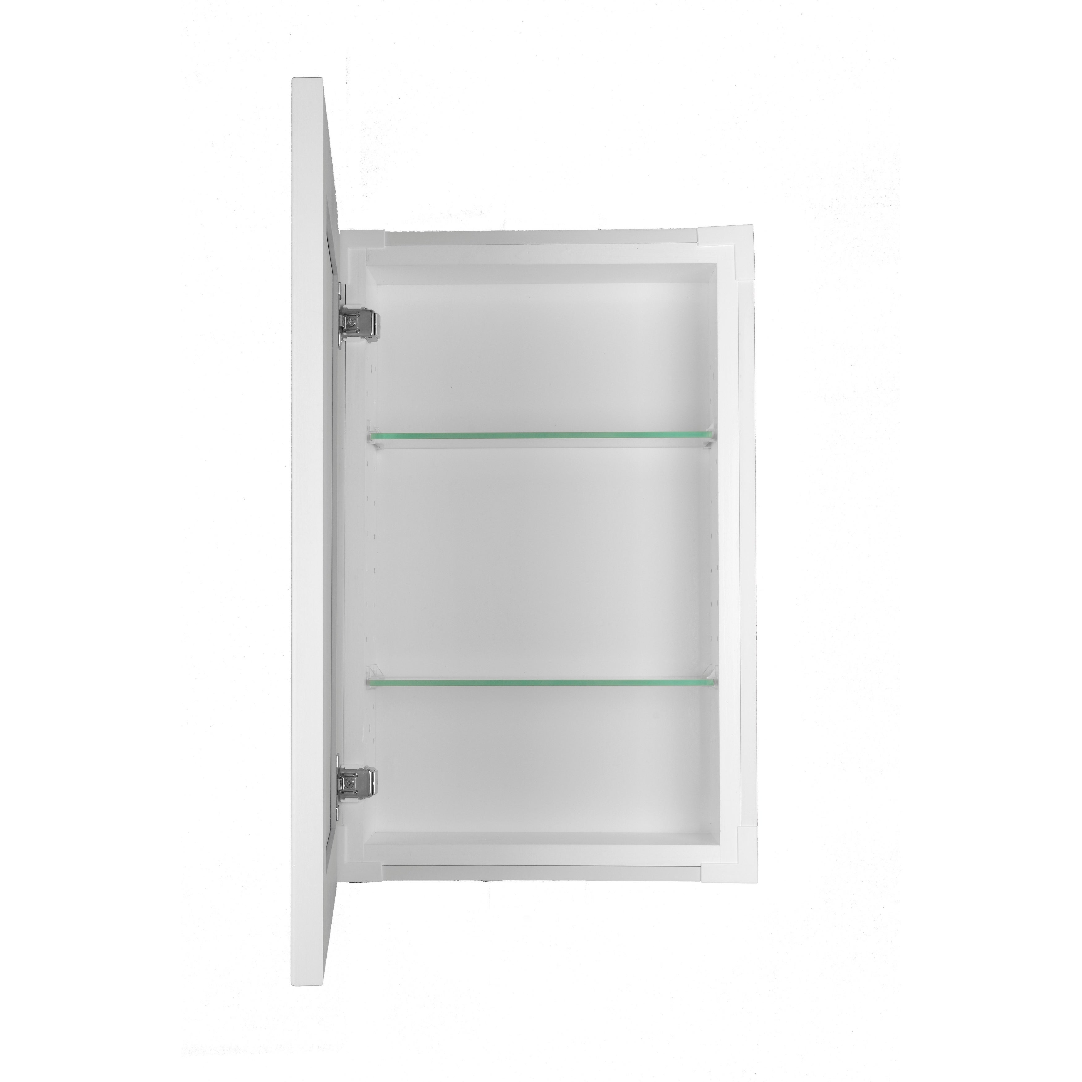 Overstock.com Recessed Standard Depth Classic Frameless Cabinet (18 inches) at Sears.com