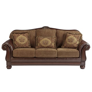 Signature Designs by Ashley 'Beamerton Heights' Chestnut Brown Sofa