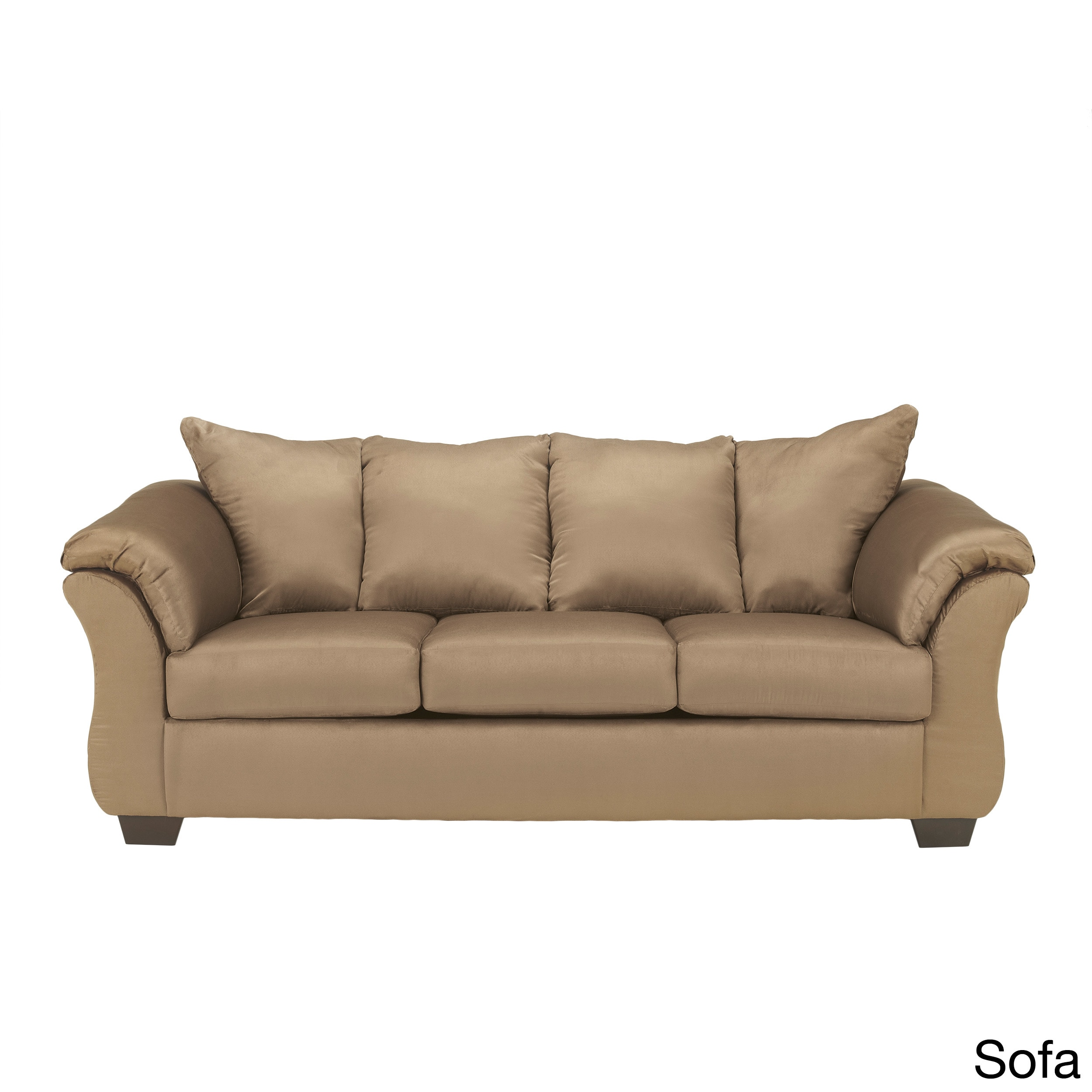 Signature Designs By Ashley 39 Darcy 39 Mocha Brown Sofa Overstock Shopping Great Deals On