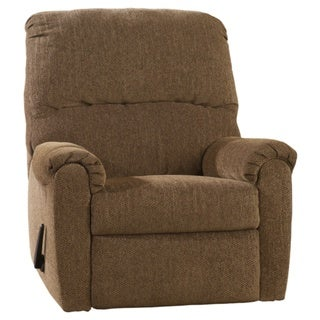 Signature Designs by Ashley 'Pranit' Walnut Brown Zero Wall Recliner
