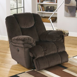 Signature Designs by Ashley 'Leoti' Coffee Brown Recliner