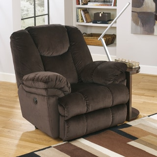 Signature Designs by Ashley 'Leoti' Coffee Brown Power Recliner