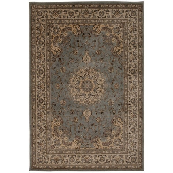 Rug Squared Charlotte Light Blue Rug (9'3 x 12'9)