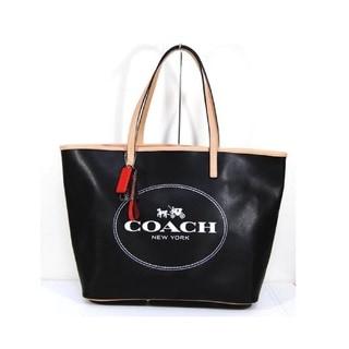 Coach Metro Hourse Black Carriage Tote