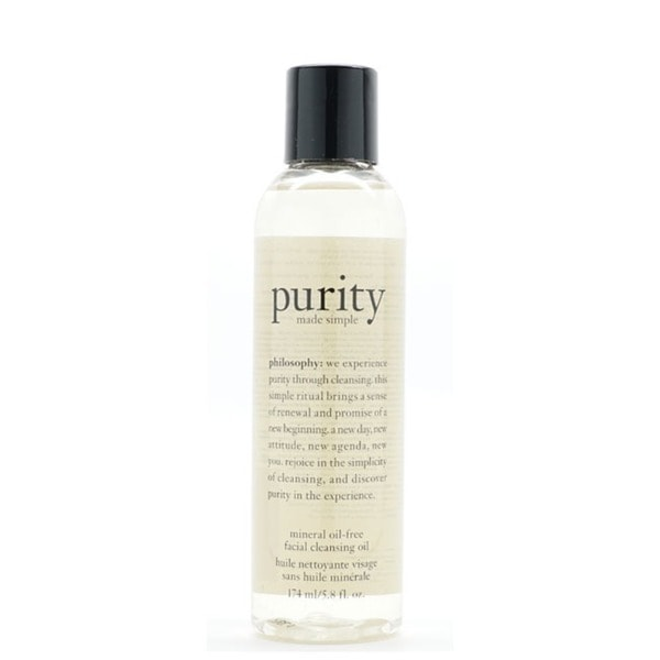 Philosophy Purity Made Simple Mineral Oil-free 5.8-ounce Facial Cleansing Oil