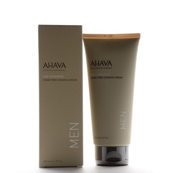 Ahava Men Time To Energize Foam-Free 6.8-ounce Shaving Cream
