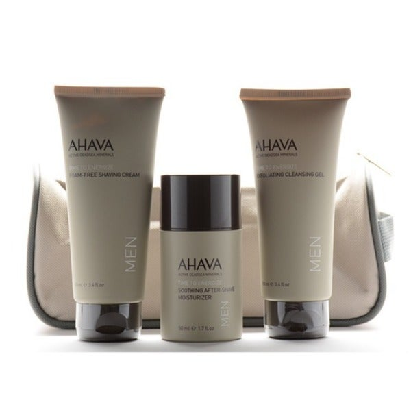 Ahava Time To Energize Travel Must Have Kit 3-piece Gift Set