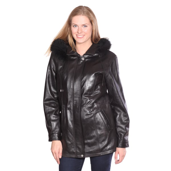 Chrisian Reed Mandy Leather Parka