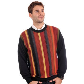 Tosani Men's Multicolor 100-percent Cotton Sweater