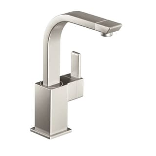 Moen S5170SRS 90-degree Stainless 1-handle High Arc Bar Faucet