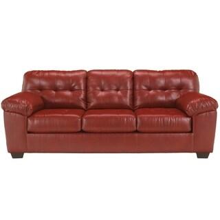 Signature Designs by Ashley 'Alliston' Red DuraBlend Sofa