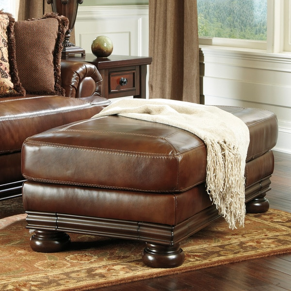Signature Designs by Ashley 'Hutcherson' Harness Storage Ottoman