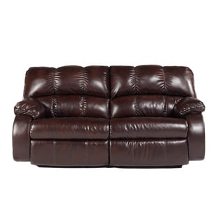 Signature Designs by Ashley 'Knockout' DuraBlend Redwood 2-seat Reclining Power Sofa