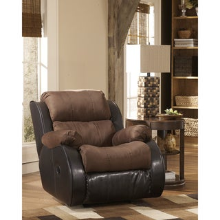Signature Designs by Ashley 'Presley' Espresso Rocker Recliner