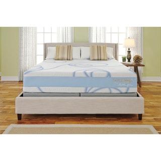 Sierra Sleep Nu Wave 14-inch California King Gel Memory Foam Mattress