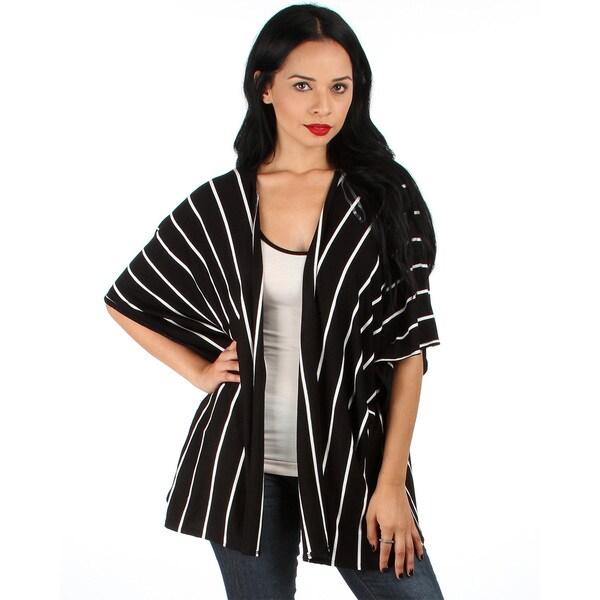 Lyss Loo Striped Kimono Cardigan