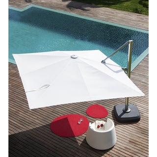 Nassau Cantilever Off-white Sunbrella Canvas Umbrella