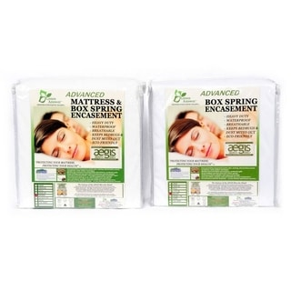 Green Answer Advanced Waterproof Mattress & Box Spring Encasement Set