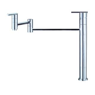 Danze Single-handle Pot Filler Parma Deck Mount Lever Handle Polished Chrome Faucet