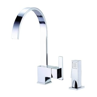 Danze Single-handle Kit Sirius Side Mount Handle with Spray Polished Chrome Faucet