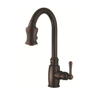 Danze Single-handle Kit Opulence Pull-down Spout Tumbled Bronze Faucet
