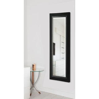 American Made Attractive Matte Black Full Body Mirror