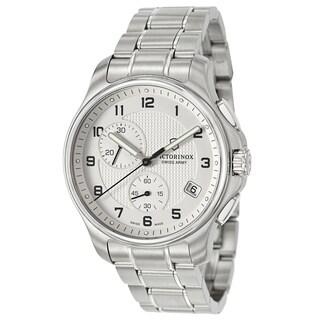 Victorinox Swiss Army Men's 241554 'Classic' Stainless Steel Swiss Quartz Watch
