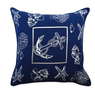 Coastal Design 20-inch Down and Feather Throw Pillow