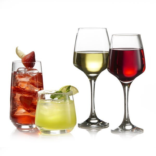 Firenze 16-piece Mixed Glassware Set