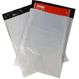 White Poly Mailers 7 x 10-inch Shipping Mailing Envelopes 3.0 Mil (Pack of 100)
